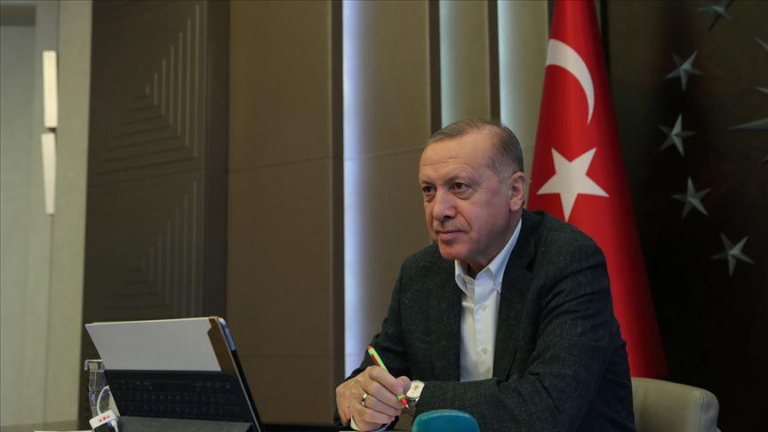 Erdoğan, video konferansla G20 Liderler Olağanüstü Zirvesi'ne katılacak