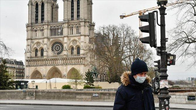 Fransa'da Kovid-19 nedeniyle ölenlerin sayısı 3024 oldu