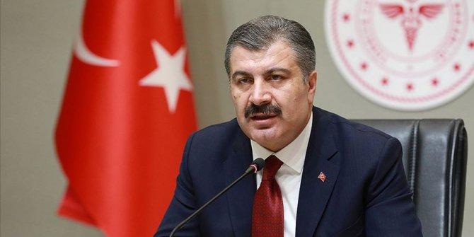 Sağlık Bakanı Koca açıkladı: Son 24 saatte vefat sayısı 76 oldu