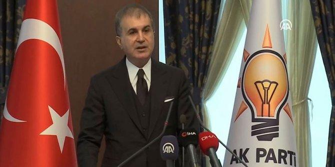 AK Parti Sözcüsü Çelik Açıklama yaptı