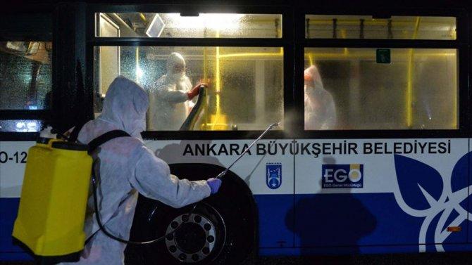 Başkentte toplu taşıma araçlarına maskesiz yolcu alınmayacak