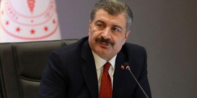 Sağlık Bakanı Koca: İnsanlığın bu zorluğu aşacağına inanıyoruz