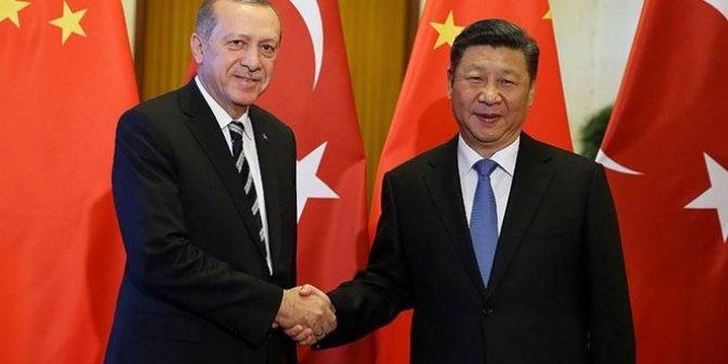 Cumhurbaşkanı Erdoğan, Çin Devlet Başkanı Şi Cinping ile görüştü