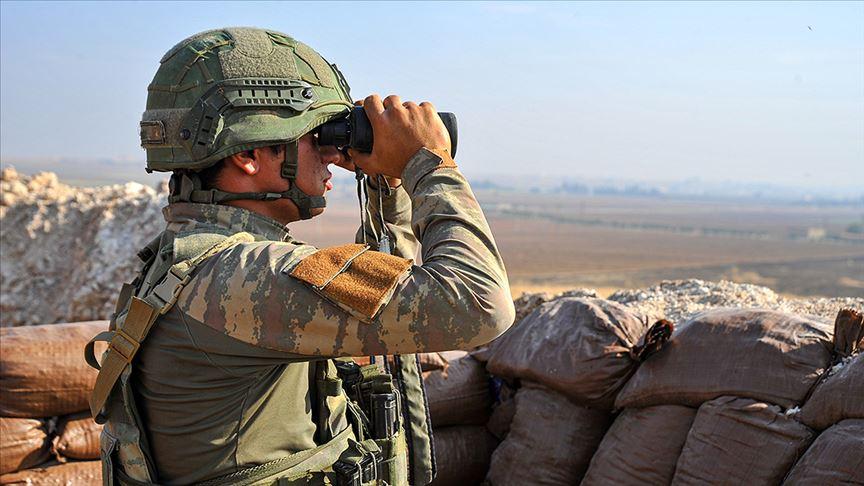 Van'da jandarmanın ikna ettiği PKK'lı terörist teslim oldu