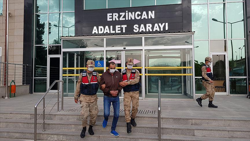 Erzincan'daki terör saldırısına ilişkin soruşturmada bir şüpheli tutuklandı