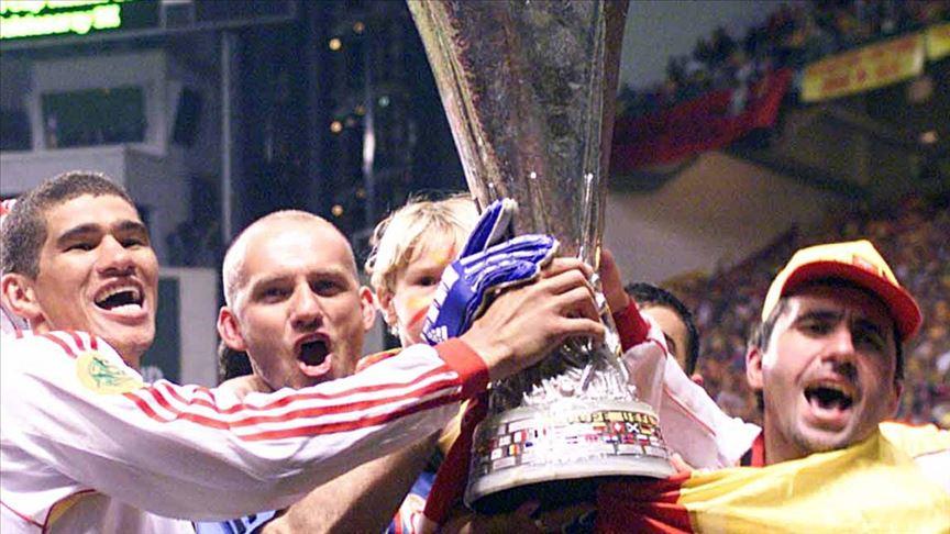 UEFA, Galatasaray'ın UEFA Kupası zaferini unutmadı
