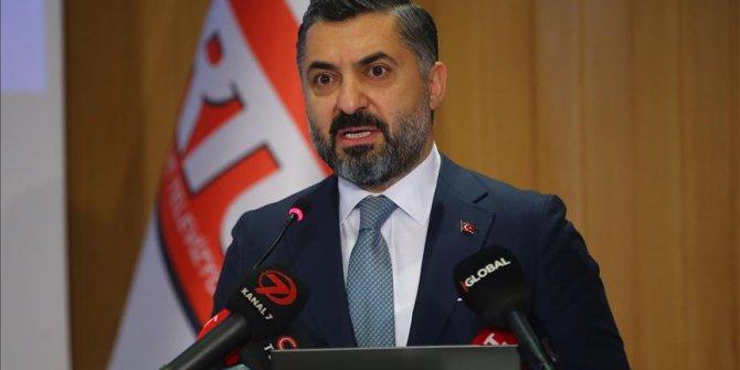 RTÜK Başkanı Şahin: Sevda Noyan'ın söylemleri, RTÜK ilkeleri bakımından asla kabul edilemez