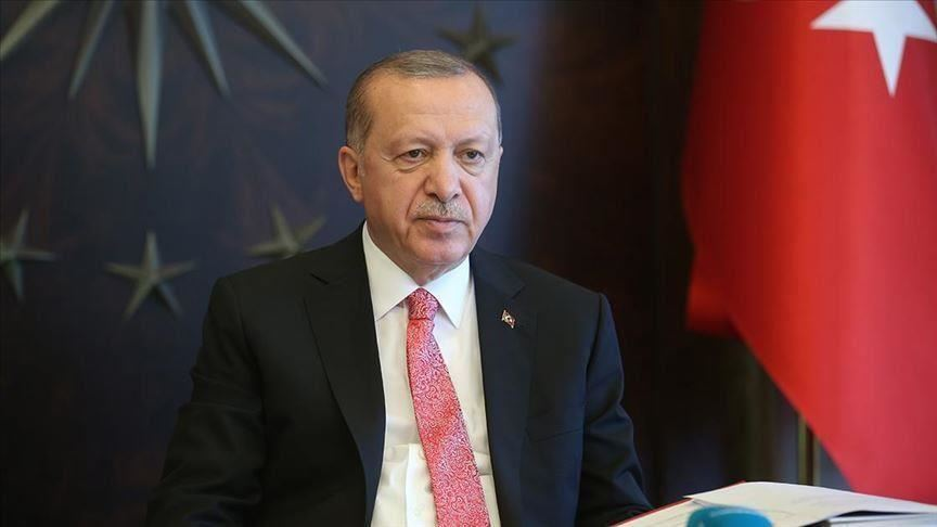 Cumhurbaşkanı Erdoğan: Türkiye salgının başından bu yana küresel dayanışmanın altını çizmiştir