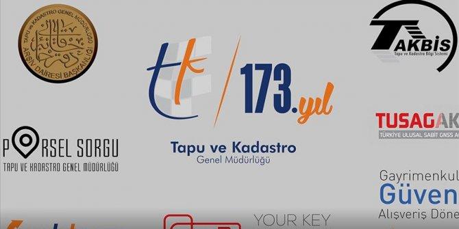 Ünlü isimler Tapu ve Kadastro Genel Müdürlüğünün 173'üncü yaşını kutladı