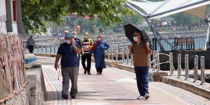 Zonguldak'ta maske takmak zorunlu hale getirildi