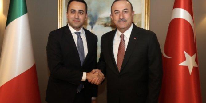 Dışişleri Bakanı Çavuşoğlu, İtalyan mevkidaşı ile görüştü