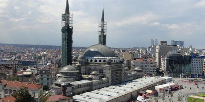 Kültür Bakanı Yardımcısı Demircan: Taksim Camii'nin yüzde 90'ı bitti