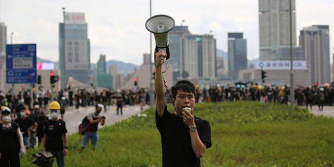 Hong Kong'da Ulusal Güvenlik Yasası protesto edildi