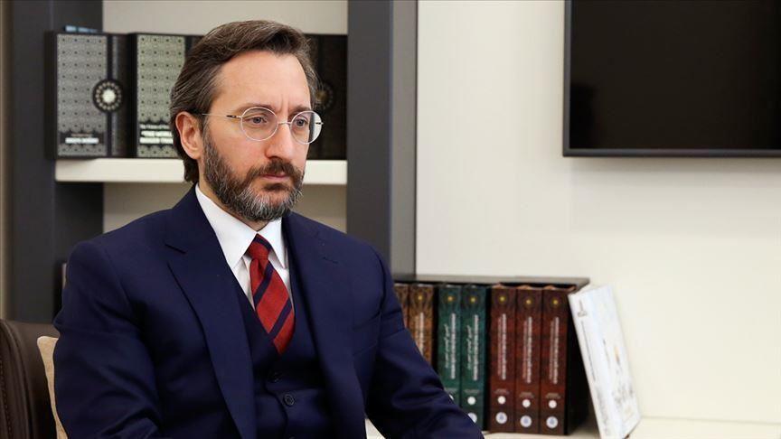 Fahrettin Altun, ABD'nin Ankara Büyükelçisi Satterfield ile görüştü