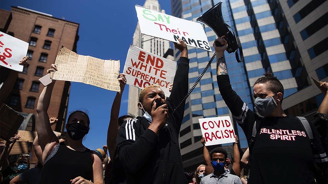 ABD'de Floyd protestoları cumartesi akşamı da hız kesmedi