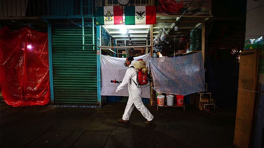 Meksika'da Kovid-19 nedeniyle son 24 saatte 364 kişi öldü