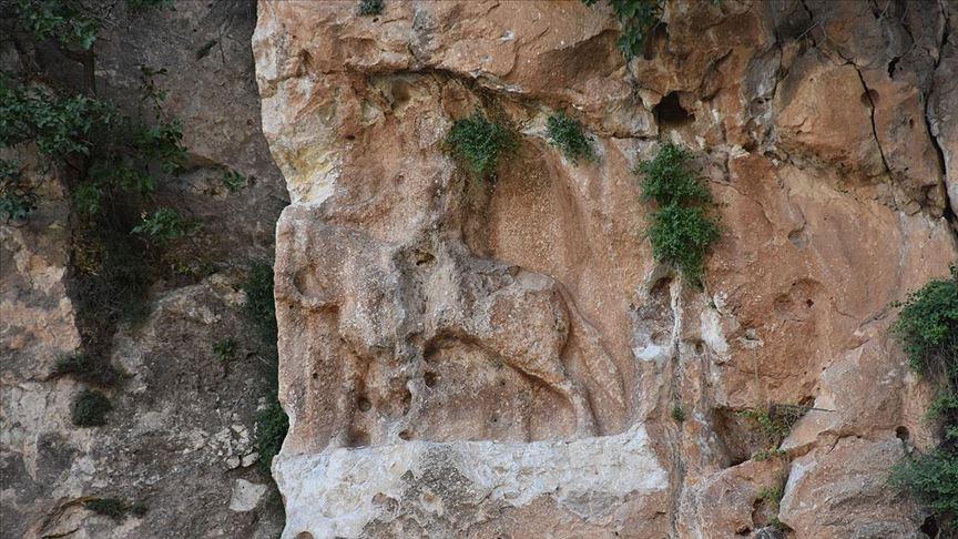 Şırnak'ta 6 bin yıllık at üstündeki insan figürlü rölyef tahrip edildi