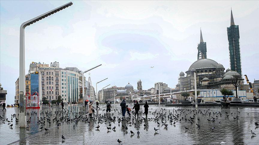 İstanbul'da serin ve yağışlı hava bekleniyor