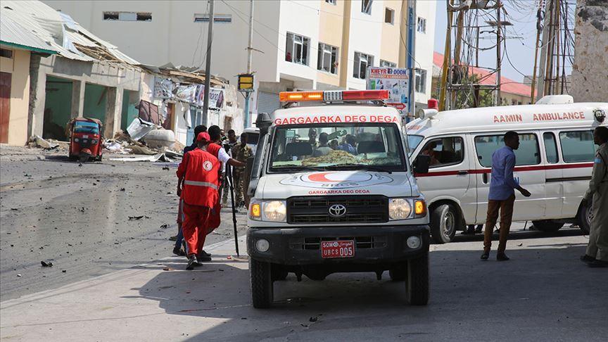 Somali'de minibüse bombalı saldırı: 10 ölü, 13 yaralı