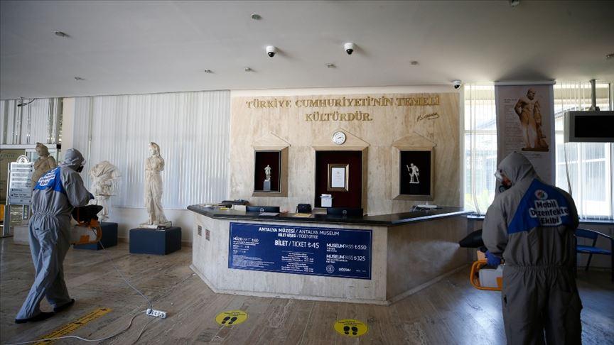 Müze ve ören yerlerinde ziyaretçiler için hazırlıklar tamamlandı