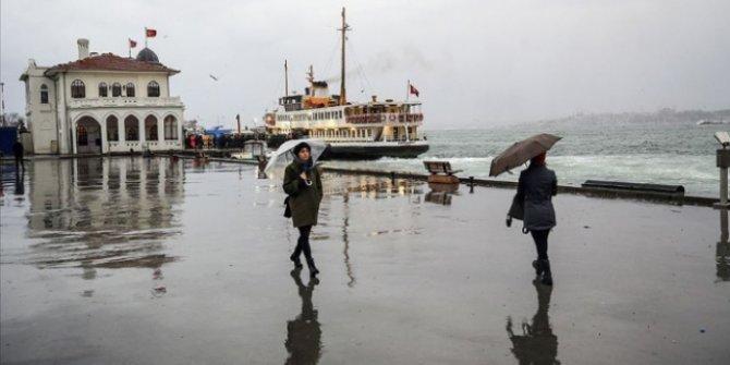 Marmara Bölgesinde sağanak bekleniyor