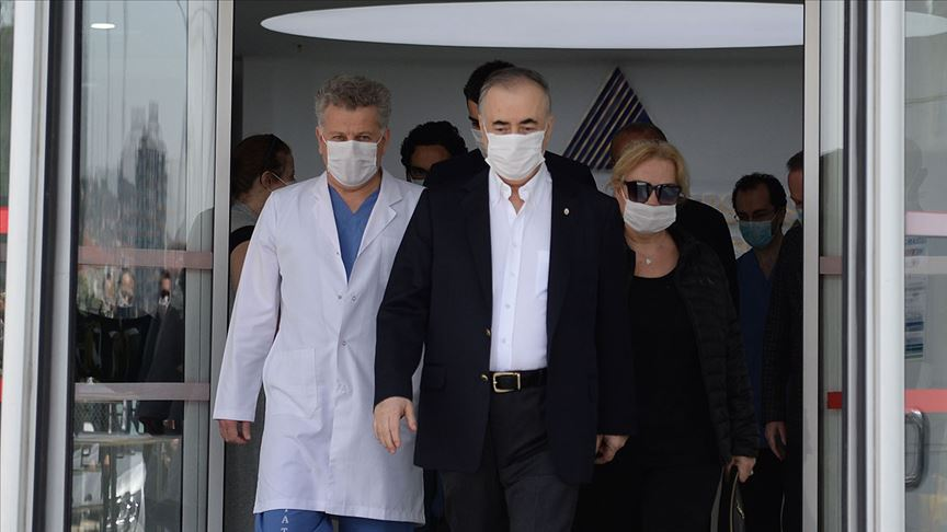 Galatasaray Kulübü Başkanı Cengiz taburcu edildi