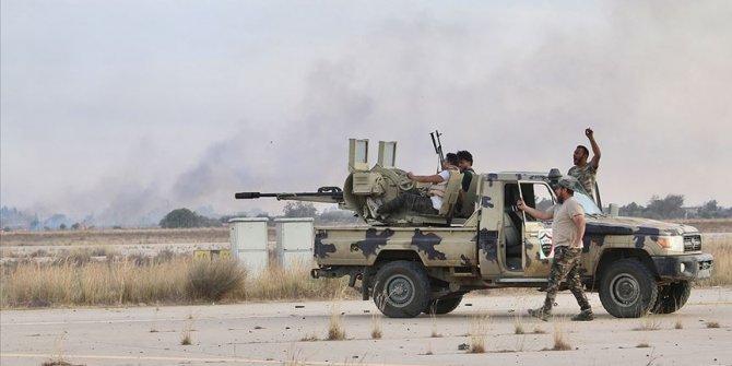 Libya ordusu Trablus'un güneyindeki iki bölgeyi Hafter milislerinden geri aldı