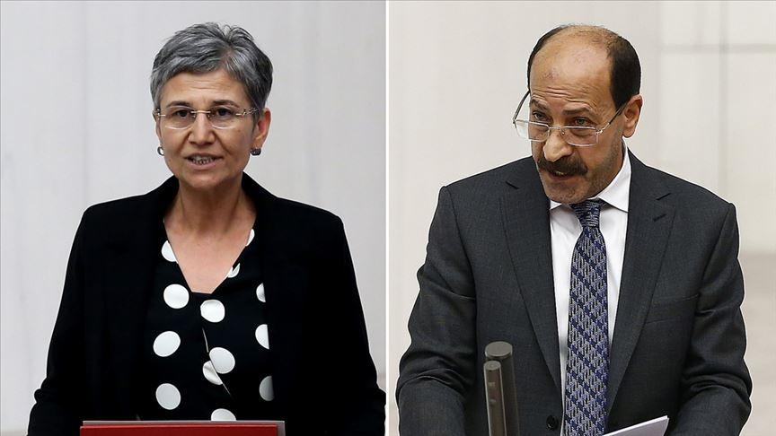 Milletvekilliği düşürülen HDP'li Güven ve Farisoğulları gözaltına alındı