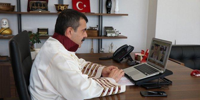 Türkiye'nin ilk dijital mezuniyet töreni