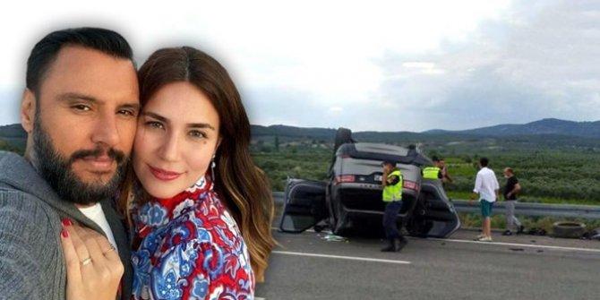 Alişan ve eşi Buse Varol trafik kazası geçirdi
