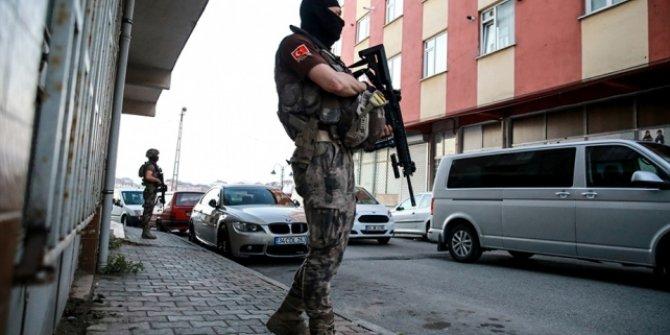 İstanbul'da 53 adrese uyuşturucu baskını