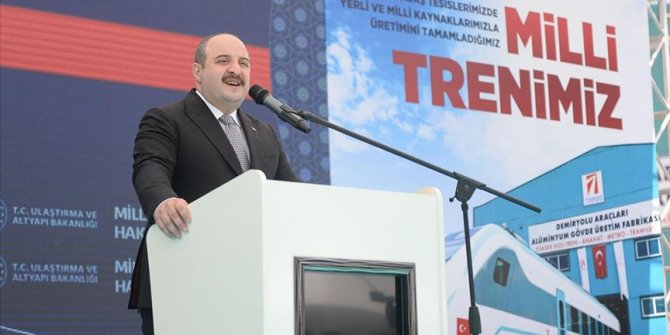 Sanayi ve Teknoloji Bakanı Varank Milli Elektrikli Trene İlişkin Açıklama Yaptı