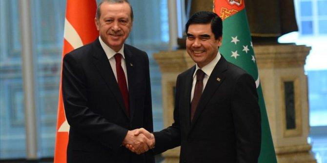Erdoğan, Berdimuhammedov ile telefonda görüştü