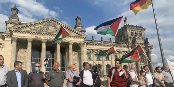 Almanya'da İsrail'in ilhak planı protesto edildi