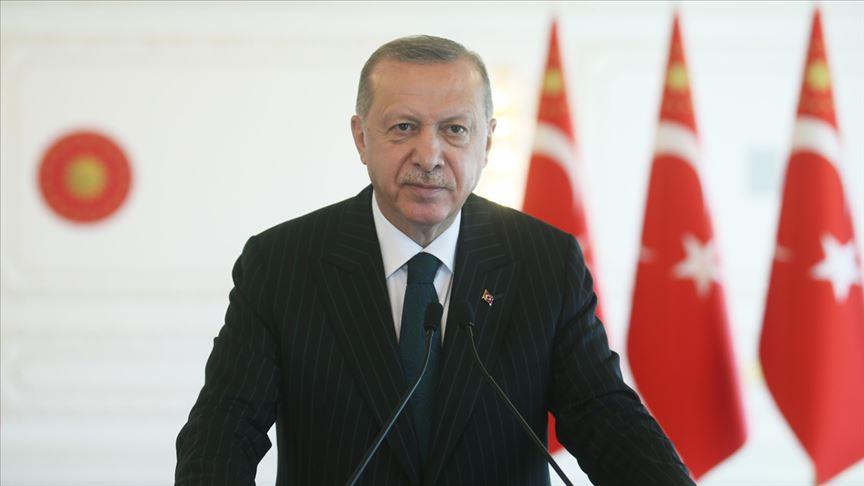 Erdoğan: Ekonomi programımızı aynı kararlılıkla uygulamayı sürdürüyoruz