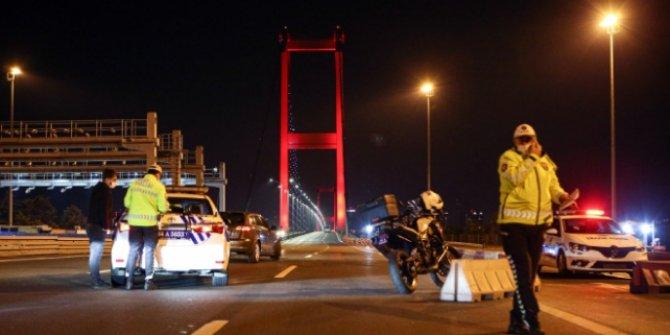 İstanbul'da kara, deniz ve havadan 'yeni normal' denetimi