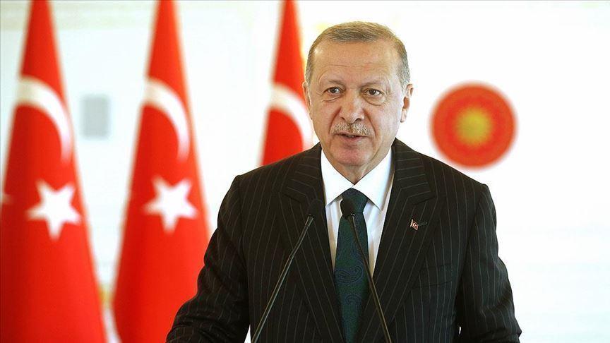 Cumhurbaşkanı Erdoğan: Doğu Akdeniz'de oyunları ve tuzakları yerle bir ettik