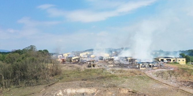 Sakarya'da havai fişek fabrikasındaki patlamaya ilişkin 4 tutuklama