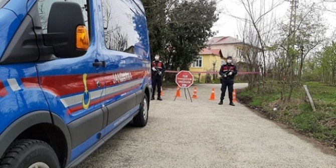 Şanlıurfa'da 76 ev karantinaya alındı