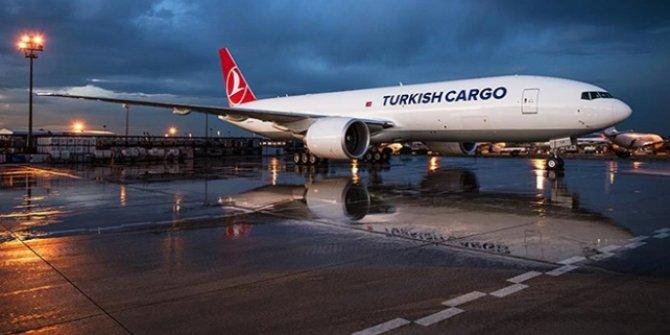Dünyada taşınan 20 hava kargodan 1'i Turkish Cargo'dan