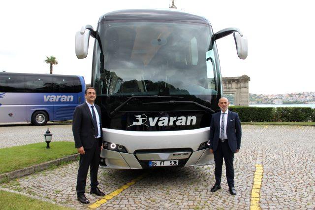 Yolcu taşımacılığının efsane firması Varan, Türkiye yollarına geri döndü