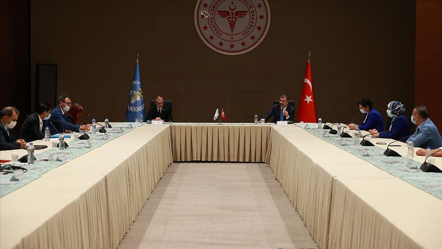 """Bakan Koca açıkladı: """"DSÖ Ofisi'ni İstanbul'da hayata geçiriyoruz"""""""