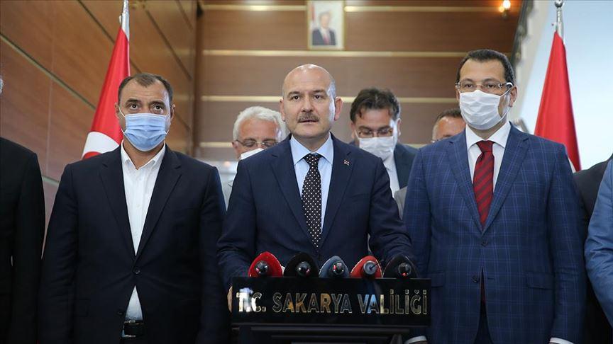 İçişleri Bakanı Soylu: Sakarya'daki fabrikanın çalışma izni önce askıya alınacak ardından iptal gerçekleştirilecek