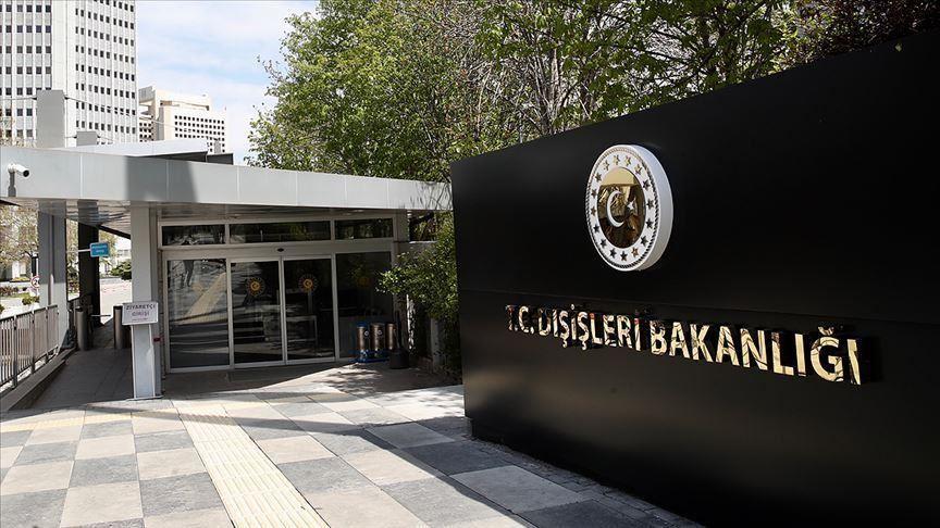 Türkiye'den, İsveç Dışişleri Bakanının terör örgütü PKK/PYD/YPG mensuplarıyla görüşmesine tepki