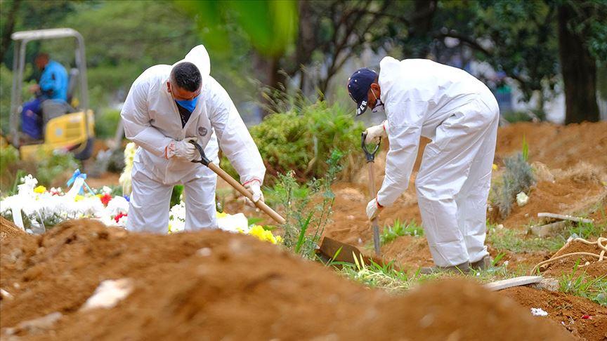 Brezilya'da 1071, Meksika'da 539, Hindistan'da 551 kişi daha hayatını kaybetti