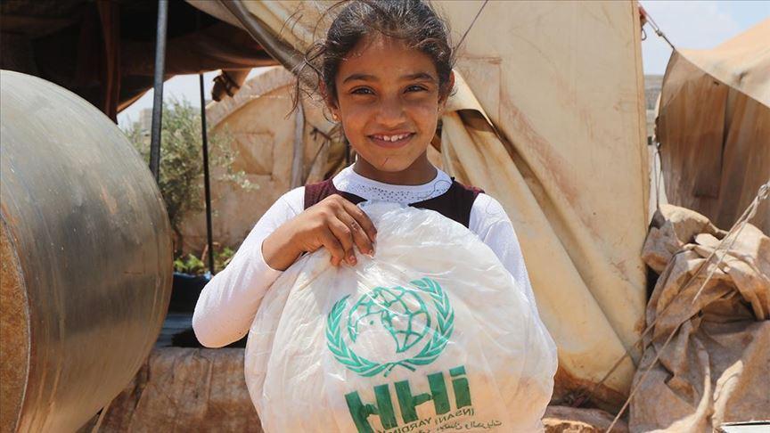 İHH Suriye'de 6 ayda 78 milyon ekmek dağıttı