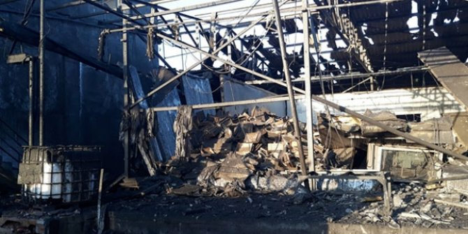 Salyangoz işleme fabrikasının buhar kazanı patladı