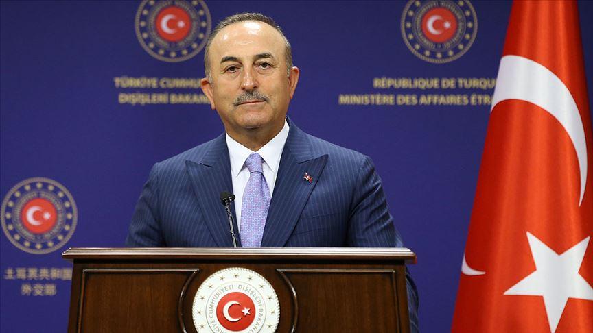 Dışişleri Bakanı Çavuşoğlu'ndan Azerbaycan'a destek mesajı