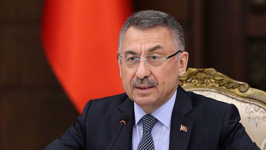 Fuat Oktay, Ermenistan'ın Azerbaycan mevzilerine saldırısını kınadı