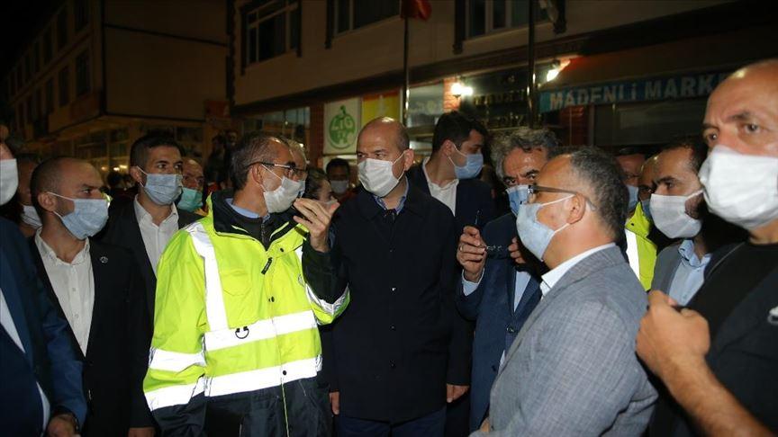 İçişleri Bakanı Soylu: Rize'de 12 köye ulaşım konusunda problem yaşıyoruz